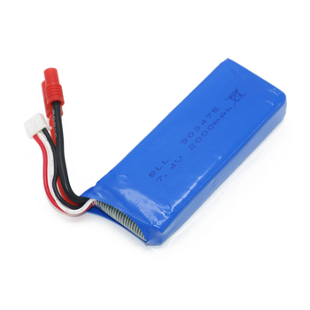 Syma Rc Lipo Pil 7.4 V 2000 mah için 25C X8 X8A X8C/X8C-1 X8G X8W RC Quadcopter RC Drone helikopter