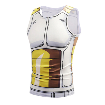 2018 Yaz Anime Dragon Ball Tank Tops Yelek 3D Tops